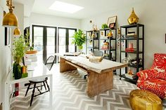 Genevieve Gorder shares her tips on adding character to your space. Plus, a peak inside her character-filled home!