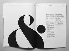 I love ampersands in layouts.  by Thorbjørn Gudnason  via dribbble.com http://drbl.in/eenO