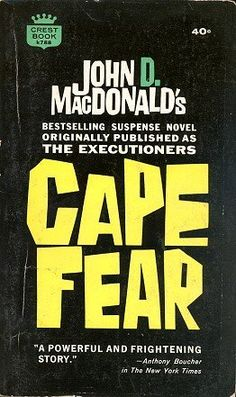 John D. MacDonald- Cape Fear