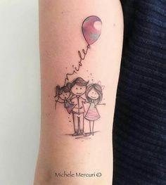 Ideia para Tattoo mãe e filhas