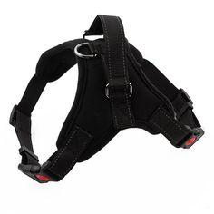 Adjustable Large Dog Harness Comfortable Strong Camouflage Dog Vest Reflective Prevent Escape Medium Big Dog Pitbulls Harness