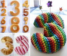 Number Cakes Ideas