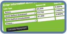 Tips for Paying off Student Loans Early..plus a calculator to decide if you should consolidate