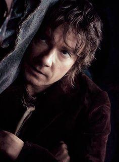 "Martin Freeman as Bilbo Baggins in ""The Hobbit: An Unexpected Journey"" Baggins Bilbo, Hobbit Bilbo, Thorin Oakenshield, Lotr, Gandalf, Thranduil, Legolas, Fellowship Of The Ring, Lord Of The Rings"