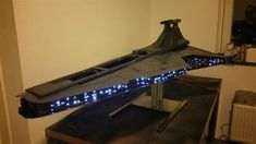 Dutch modder Sander van der Velden has created a 3D printed case mod for his MSI gaming PC that perfectly replicates a Venator-Class Star Destroyer from the Star Wars franchise. The project is an entry for the MSI Pro Mod Season 3 competition.