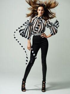 Alessandra Ambrosio @AngelAlessandra - Vogue Turkey March 2015 Cuneyt Akeroglu www.cuneytakeroglu.com via @vogueturkiye  for #hair #motion