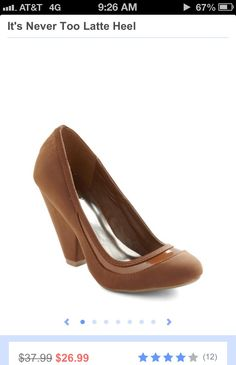 Mmm latte shoes would go with anything
