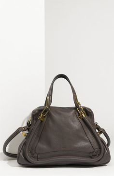 Chloé 'Paraty - Medium' Leather Satchel available at #Nordstrom