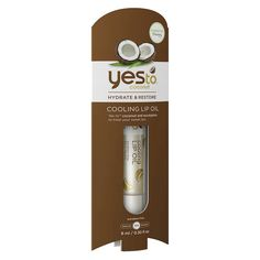 Yes To Coconut Cooling Lip Oil Target Exclusive - .3 oz