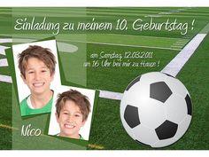 Einladungskarten Kindergeburtstag Fußball : Einladungskarten Kindergeburtstag Fußball - Kindergeburtstag Einladung - Kindergeburtstag Einladung