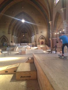 """Church use is in decline in The Netherlands, so they turned one in Arnhem into a """"sweet"""" skate spot"""
