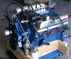 41 best ford big block fe engine images engine motors rolling carts rh pinterest com