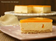Atrapada en mi cocina: CHEESECAKE DE MANGO