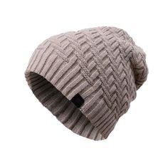 2016 Hot Sales Knitting Hat Winter Hat For Man Skullies Beanies Warm Cap Man Beanie Hat High Quality Headgear Drop Shipping Crochet Hat With Brim, Knitted Hats, Crochet Hats, Mens Beanie Hats, Knit Beanie, Winter Cap For Man, Cowboy Hat Styles, Cable Knit Hat, Hat For Man