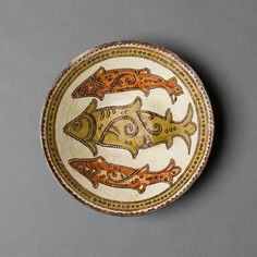 A Nishupur slip painted pottery Bowl Persia, 9th/10th Century