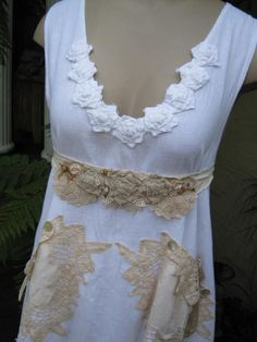 Vintage Kitty Lily Hannah beautiful cotton by sistersroseandruby, $239.00