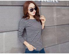 Oem 100% Cotton T-shirt Long Sleeves Tripe Shirt - Buy T-shirt,Polo T-shirt,Cotton Polo Shirt Product on Alibaba.com