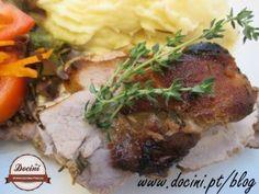 Lombo de Porco no Forno com Tomilho e Mel