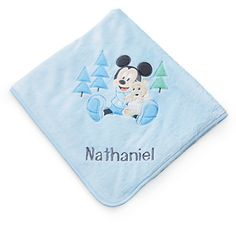 Mickey Mouse Layette Blanket for Baby - Personalizable | Disney Store