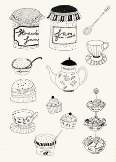 Afternoon tea! | Katt Frank