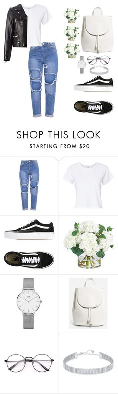 """""""#873"""" by infinito1 ❤ liked on Polyvore featuring RE/DONE, Vans, Frontgate, Daniel Wellington, Everlane, Swarovski and Yves Saint Laurent"""