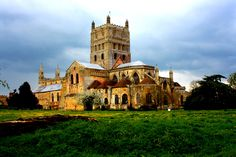 Stayed in Tewksbury on our way down to The New Forest. Tewksbury Abbey, British Country, Cathedral Church, New Forest, Facade Architecture, British Isles, Cathedrals, Facades, Wonders Of The World