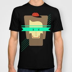 current superhero T-shirt by AmDuf - $22.00