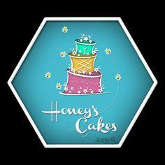 Honey's Cakes Logo. @jany28rodriguez