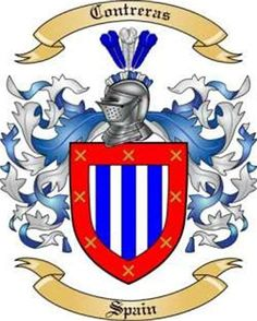 Contreras Family Crest from Spain by The Tree Maker Family Crest, My Family, Crests, Coat Of Arms, Tigger, Disney Characters, Fictional Characters, Spain, Image