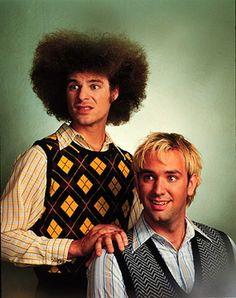 Matt and Trey, South Park creators.