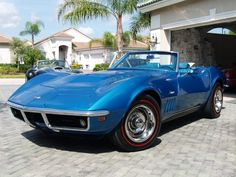 Pennie's Dream Car.  1969 Corvette Stingray Convertible.. in blue, of course.  I just need to win the Lotto, Honey!