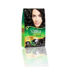 Vatika Dabur Henna Haarfarbe - Schwarz mit Olivenextrakt - Oriental-Style