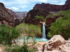 Havasupai trail 3 or 4 days with or whithout helicopter. Its a long hike to the basecamp. Take only a hammock with you. Dont need a tent.