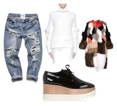 """""""Untitled #10"""" by cirreaupshur on Polyvore featuring STELLA McCARTNEY, Victoria Beckham, Fendi, women's clothing, women, female, woman, misses and juniors"""