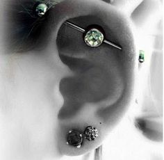 Industrial Pierce - contemplating having this done!