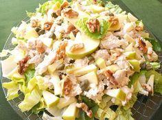 Cooking with Lola García: chicken and apple salad - mi tablero - Ensaladas Salad Recipes, Diet Recipes, Chicken Recipes, Cooking Recipes, Healthy Recipes, Healthy Menu, Healthy Eating, Clean Eating, Deli Food