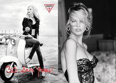 30 Sexy Years: Claudia Schiffer for Guess 30th Anniversary
