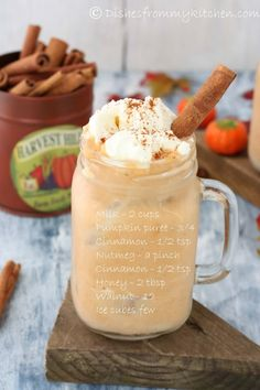 SPICED PUMPKIN SHAKE