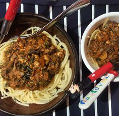 Mushroom and spinach bolognese, 38p (VEGAN) | A Girl Called Jack | Bloglovin'