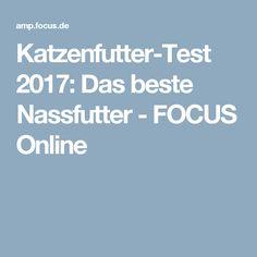 Katzenfutter-Test 2017: Das beste Nassfutter - FOCUS Online