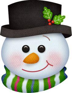 Resultado de imagem para Cute Snowman Faces to Paint Snowman Faces, Cute Snowman, Snowman Crafts, Christmas Crafts, Christmas Decorations, Snowmen, Christmas Scenes, Christmas Colors, Christmas Snowman