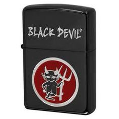 Zippo Lighter BLACK DEVIL Cigarette Japan Advertisement Promotion AD BN
