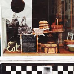 EAT Greenpoint | Brooklyn, NY Great idea for Display. Retail Shop interior Design  #TimeToSee