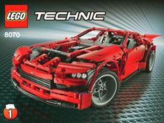 LEGO Technic Super Car 8070 by LEGO GmbH  The ultimate LEGO® Technic building challenge!  This cool supercar is full of working features and functions, just like the real thing! Use the built-in LEGO® Power Functions to open the scissor doors, extend the rear spoiler and pop the hood to reveal the realistic V8 engine! Features gear wheel steering, realistic suspension and moving pistons. Rebuild into a Hot Rod for even more of a challenge! Rebuild into a cool Hot Rod.