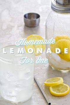 Shaken, not stirred! As an occasional lemonade lover, you'd rather sip a single frosty glass than polish off an entire pitcher full of the drink. Enter lemonade for one, your answer to your lemon dilemma and just perfect for spring! Grab a Mason jar with a lid, some water, a scoopful of ice, granulated sugar, and a lemon, of course. Follow eBay's guide to homemade lemonade for one, and you'll have a single serving of your favorite citrus drink faster than James Bond can get a date.