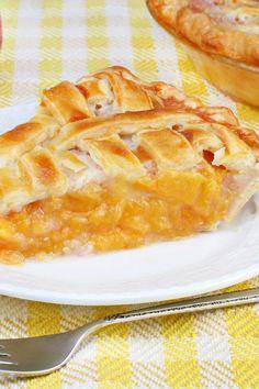 Old Fashioned Peach Pie Recipe
