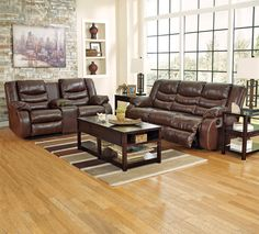 Leather Reclining Sofa And Love Seat In Almond Furniture