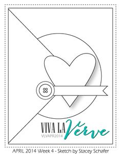 "Thank U Card from Viva la Verve sketch - by atsamom, via Flickr - Vellum ""thank"" and large letter ""u"""