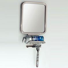 Spejl med sugekop og holder til shaver. Dugfrit. Køb online