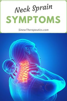 Sports medicine products for the treatment and rehabilitation of neck strain and neck sprain pain in the acute and chronic stage of healing. Neck Sprain, Neck Spasms, Muscle Spasms, Neck Exercises, Neck Stretches, Stiff Neck, Sports Medicine, Back Pain, Daily Activities